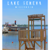 Riviera Beach Lifeguard Stand $85  - 16x20 (Lake Geneva, WI)