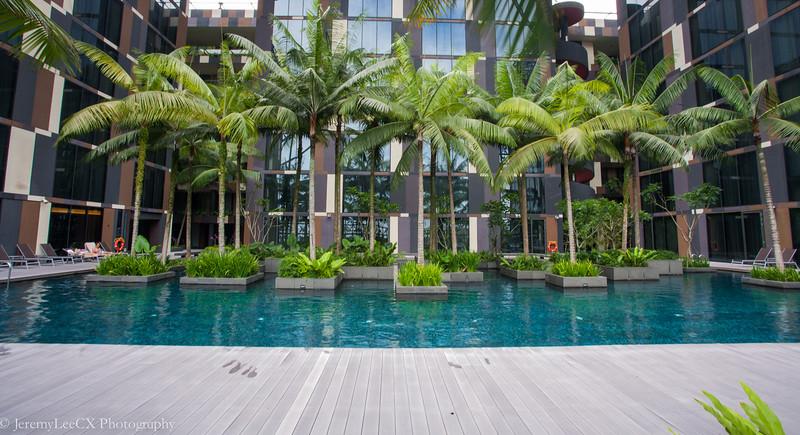 Crowne Plaza Changi Airport - Swimming Pool