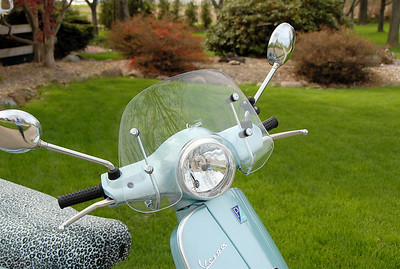 Euro Turn Signals and Vespa Flyscreen