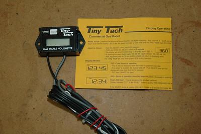 Installing a Tiny-Tach