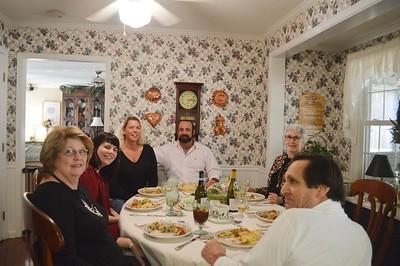 Jenny, K.C., Suzanne, Marty Jr., Judy, Marty