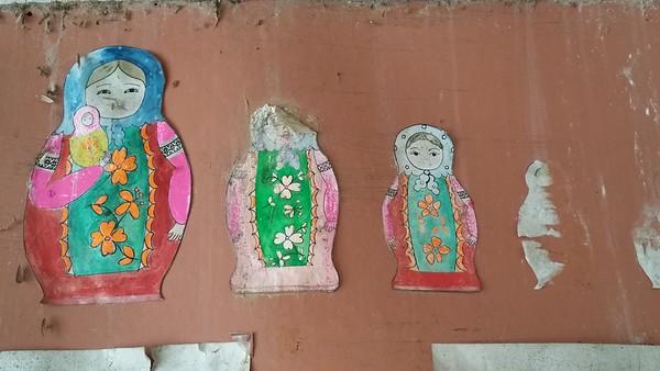 Babushka dolls.