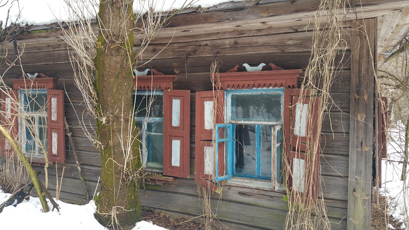 This style of window appeared in several places around Chernobyl.