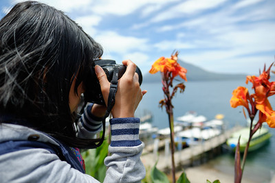 Photography lessons in Panajachel, Guatemala