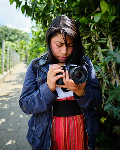 Photography students in Lake Atitlán, Guatemala