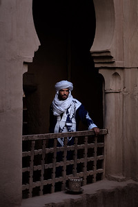 Sa'id, our guide and driver, in the Kasbah des Caids, Tamnougalt, Morocco.