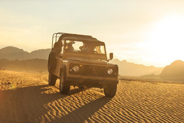 """""""Sand Jumper"""" - Wadi Rum, Jordan"""