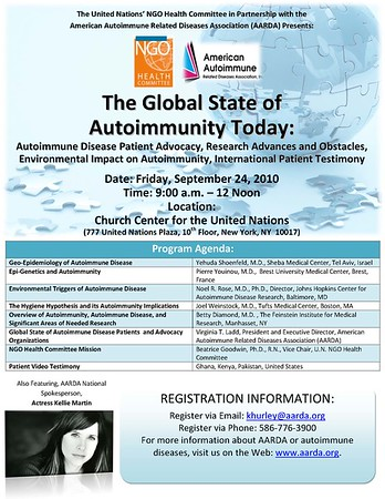 The Global State of Autoimmunity Today