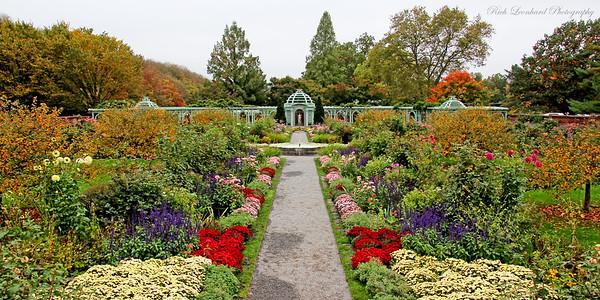 The Walled Garden in Old Westbury Gardens.