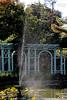 Fountain in Walled Garden at Old Westbury Gardens.