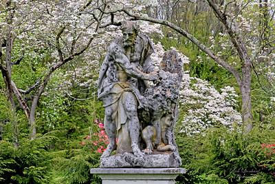 Statue at Old Westbury Gardens.
