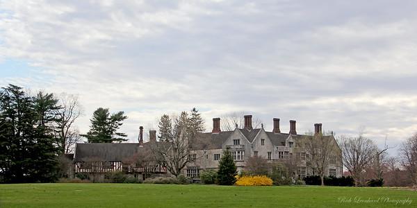 Coe Hall at Planting Fields Arboretum.