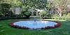 Fountain near Coe Hall in Planting Fields Arboretum