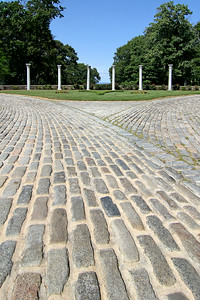 Main driveway at the Vanderbilt Estate in Centerport,NY.