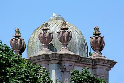 Dome on mansion at Vanderbilt Estate in Centerport,NY.