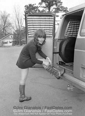 Carol O'Neil Cycle News Boot Test 1972