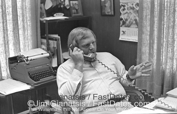 Bob Lenk, Cycle News East Advertising Manager 1972