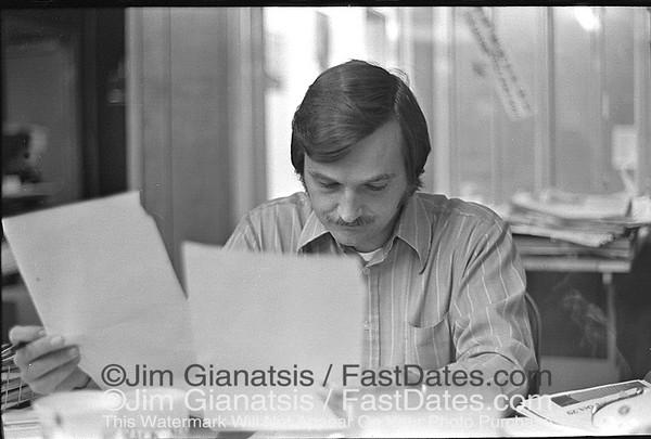Jack Mangus - Editor / Cycle News East 1972