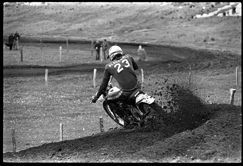 Appalachia 1974 AMA National Motocross - Mark Blackwell
