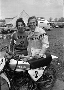 Appalachia 1974 AMA National Motocross, Bill Buchka and Pierre Karsmakers, Yamaha YZ250 Monoshock