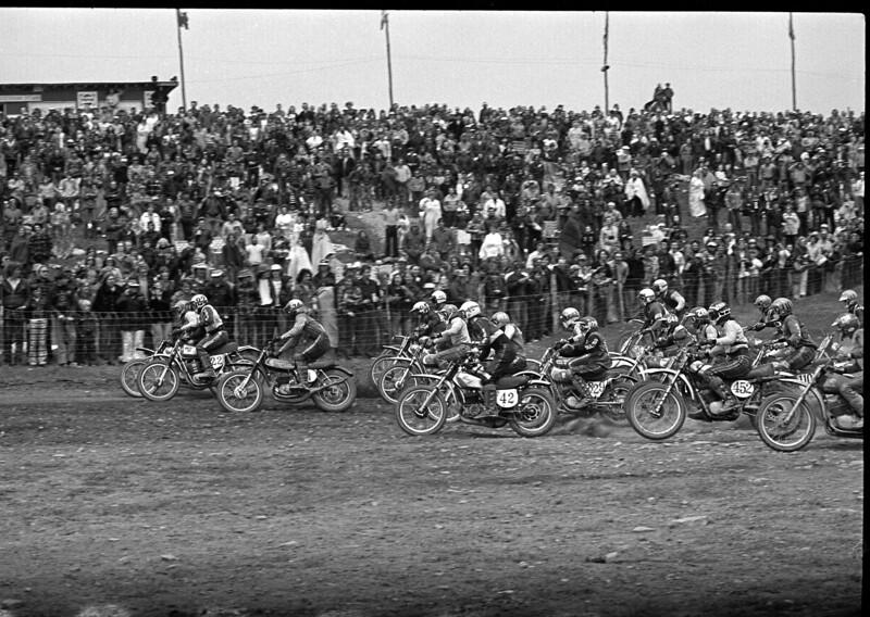 Appalachia National Motocross 1974, Bruceton Mills, West VA - June 4-5th