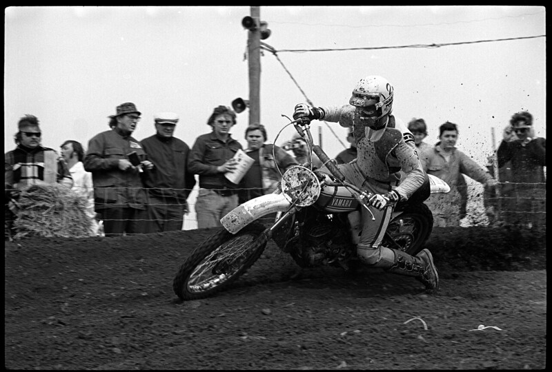 Appalachia 1974 AMA National Motocross - 250cc Class winner Pierre Karsmakes, Yamaha