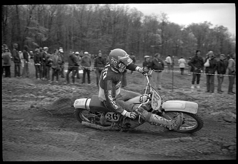 Appalachia 1974 AMA National Motocross Rex Staten Team Honda