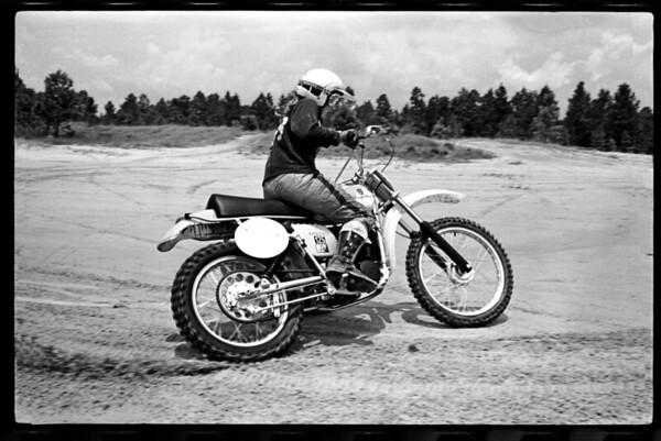 1975 Husqvarna 125 CR Cycle News Test