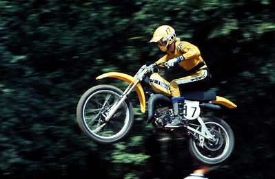 Broc Glover 1976 125cc Yamaha OW26
