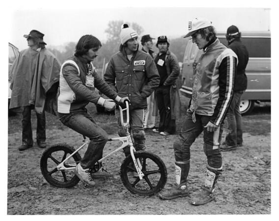 1977 Trans-AMA with Jimmy Weinert, Gerrit Wolsink, Brad Lackey