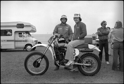 Chuck Sun and Eric Cripps, Team Husqvarna  CR250