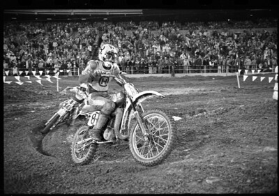Chuck Sun, Team Husqvarna, 1978 Supercross Series.