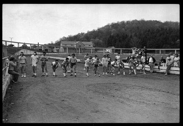 The Lost AMA National Motocross Foot Race of 1978
