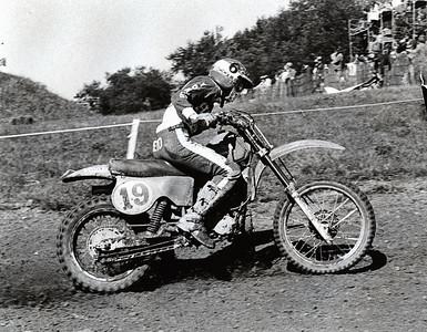 Warren Reid, American Honda rider on Honda RC250-79 by Jim Gianatsis