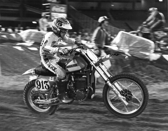 "Eeam Fox Rider Lenny ""Roadioactive"" Giger, 1979 AMA Supercross"