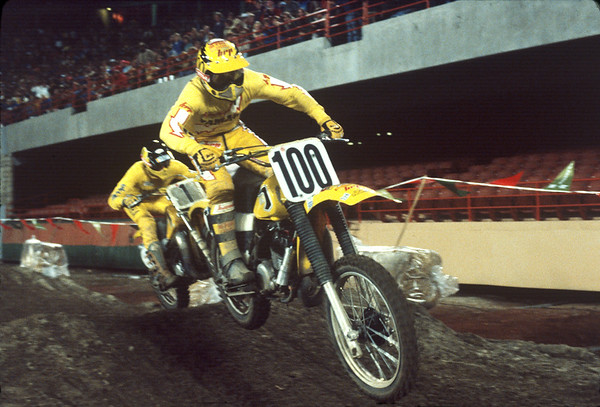 Team Yamaha 1981 AMA Supercrosos