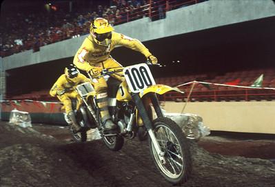 Team Yamaha 1981 AMA Supercrosos