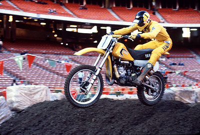 Mike Bell /Team Yamaha 1980 AMA Supercross Champion