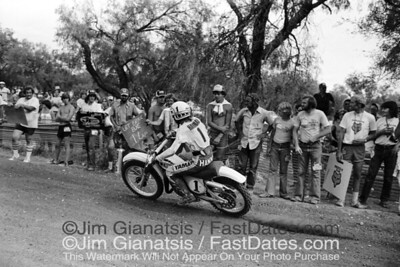 "1977 AMA 125cc National Championship w/ race leader/Bob Hannah ""Let Brock Bye"""
