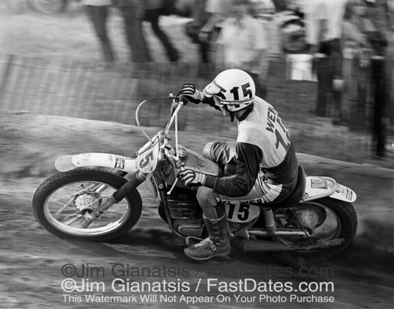 Maico Meister Adolf Weil in the 1973 Trans-Am.