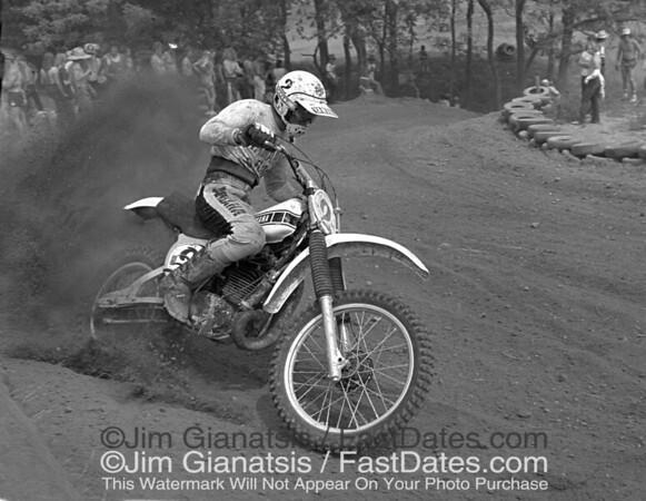 Bob Hannah, 1977 Yamaha OW 250.