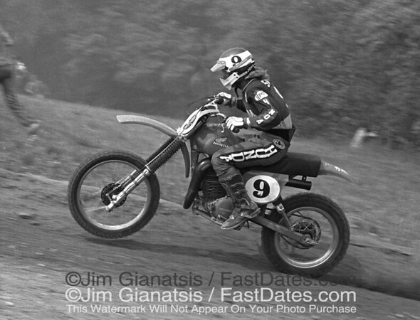 Mary Smith, Honda RC450, 1977 Unadilla National.