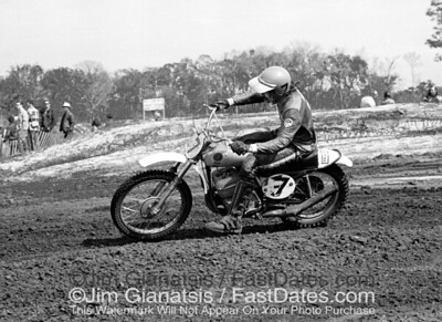 CZ rider Barry Higgins, 1972 Florida Winter-AMA Series.