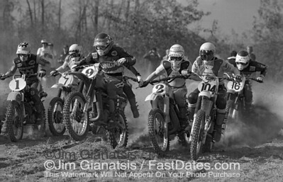 Saint Louis Trans-AMA Start 1977