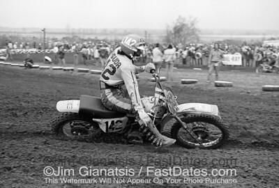 Koji Masuda, Suzuki RN370 at the 1975 St. Louis Trans-AM.