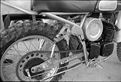 Prototype C&J Husqvarna monoshock 1976