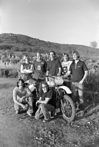 Team Husqvarna 1976 by Jim Gianatsis