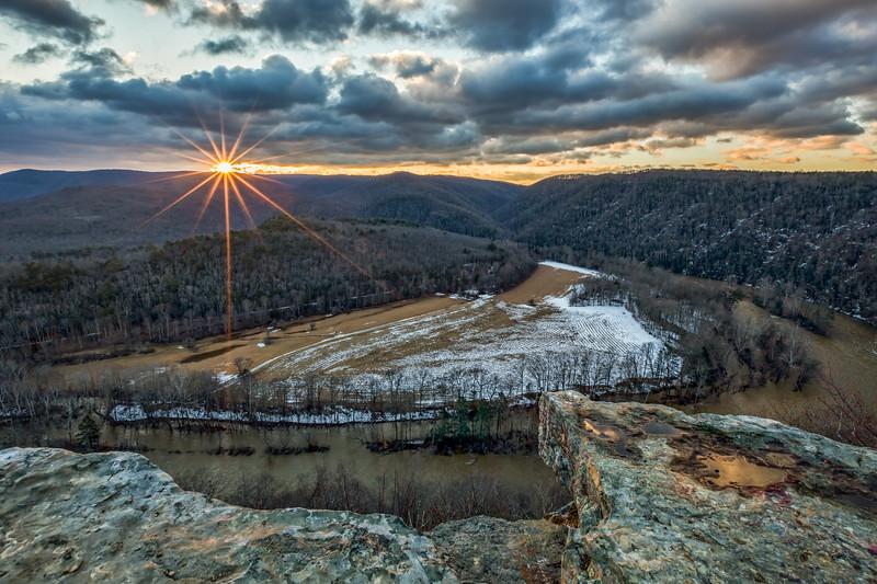 Snake Rock Sunrise