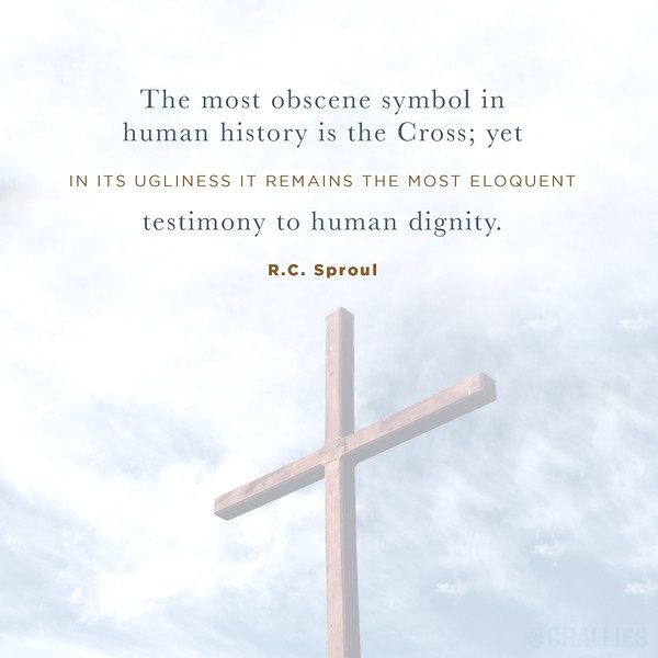R.C. Sproul on the Cross