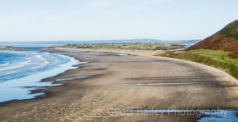 Rhossili - Low Tide